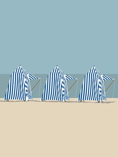 Tentes de plage