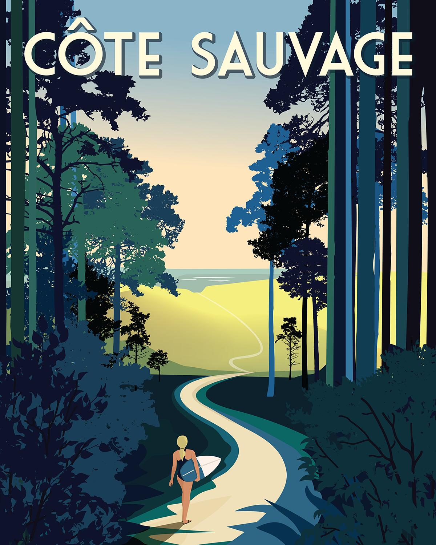 Côte Sauvage Surf