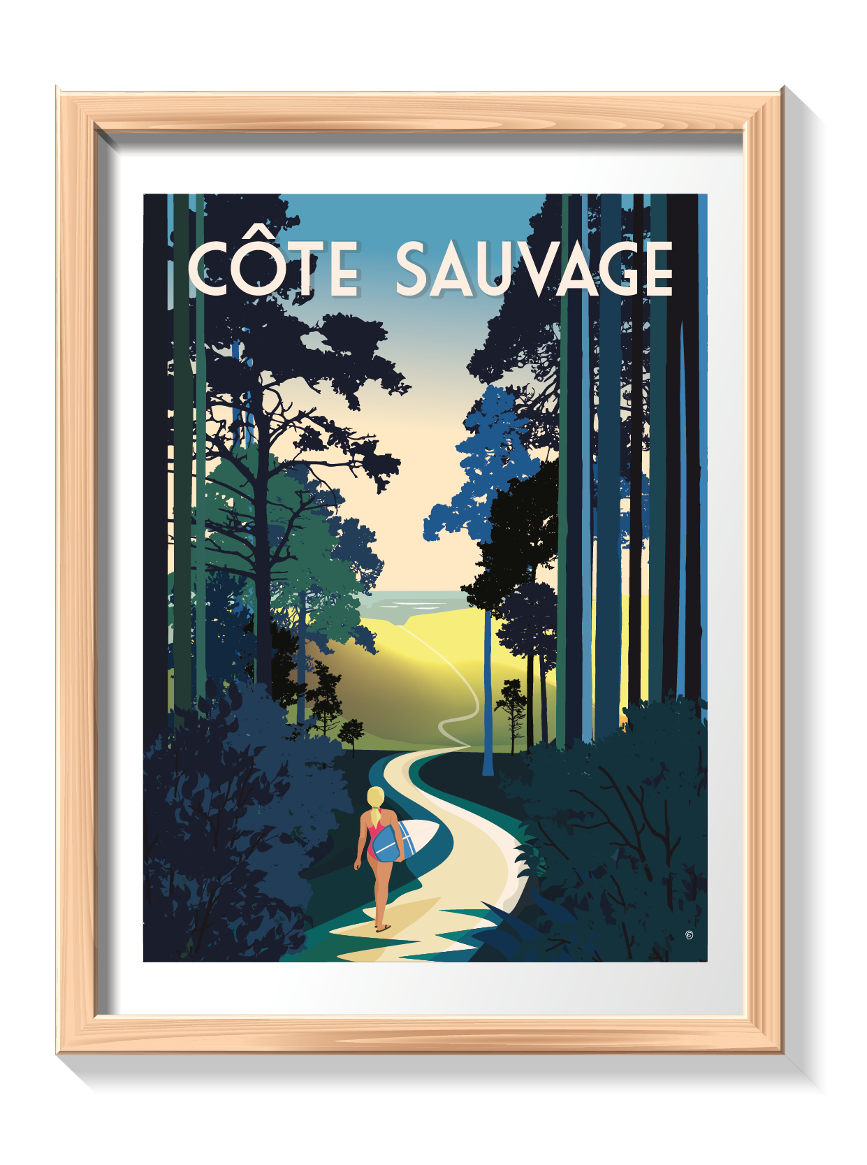 Click&Collect Royan - Côte Sauvage 30x40