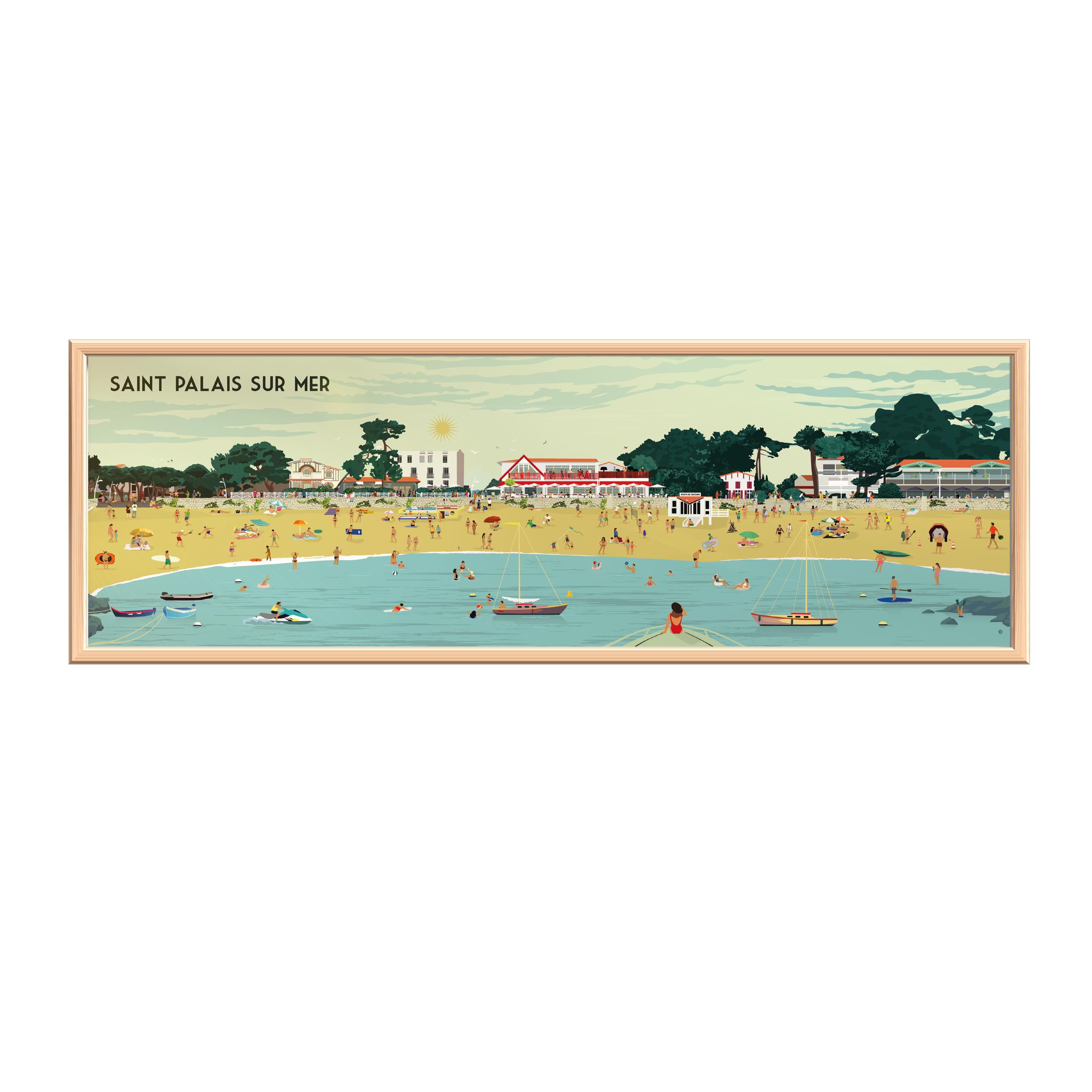 Click&Collect Royan - Holidays Forever St Palais, avec de vrais personnages!