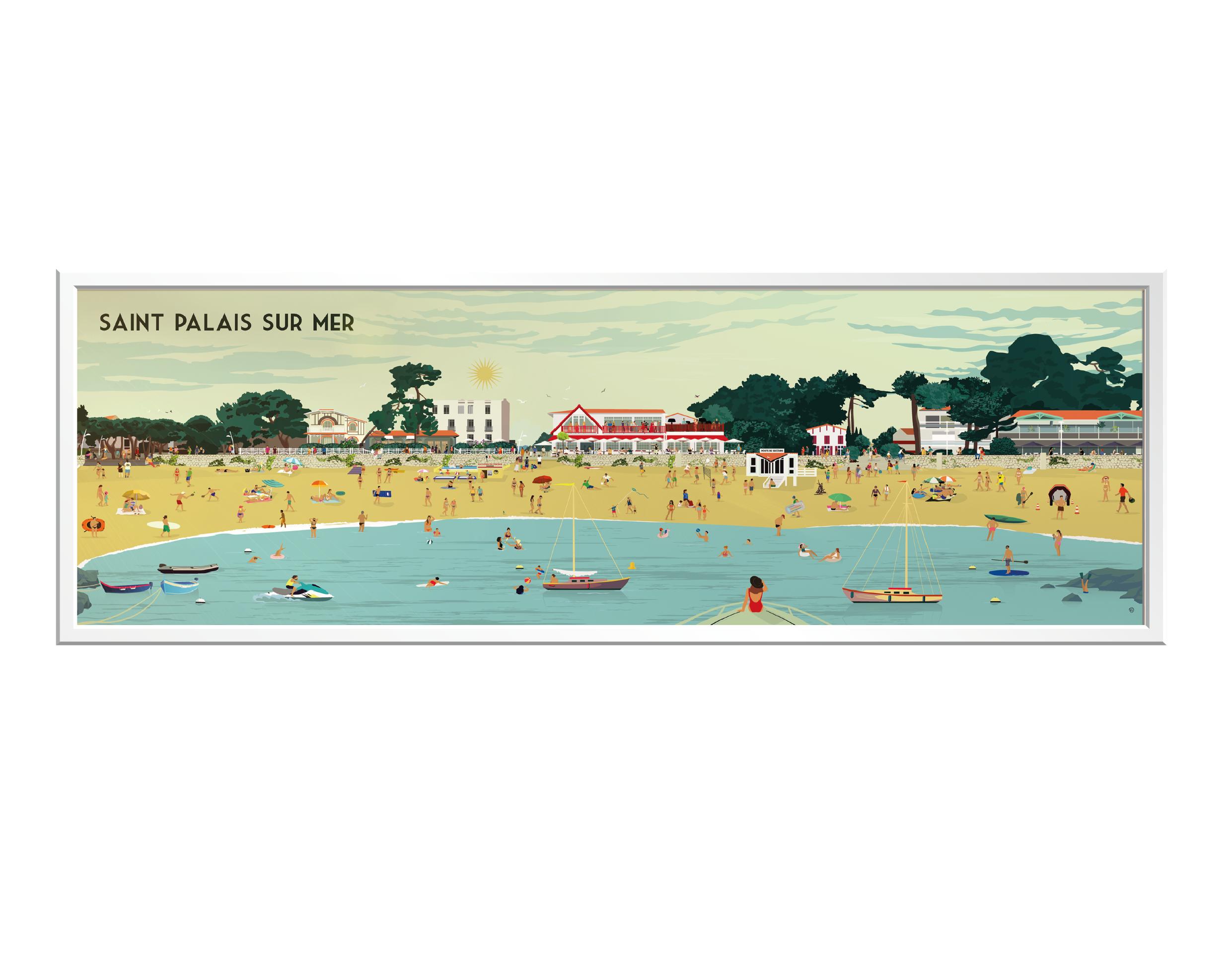 Click&Collect Royan - Panorama St Palais, avec des vrais personnages